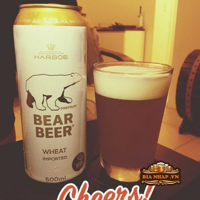 bia Gấu Bear Beer Wheat Imported