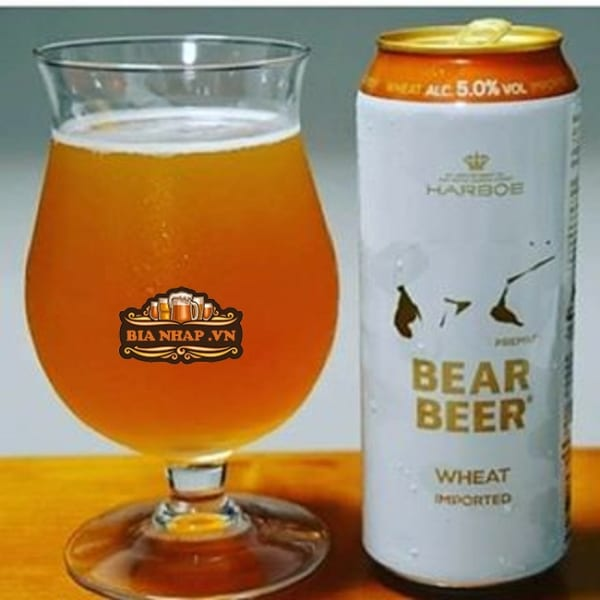 Bia Gấu Bear Beer Wheat Imported 5%