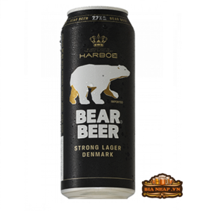 Bia Gấu Bear Beer Strong Lager
