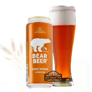 Bia Gấu Vàng Bear Beer Dark Wheat