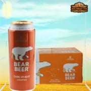 Bia Gấu Vàng Bear Beer Dark Wheat 5,4% – Lon 500m