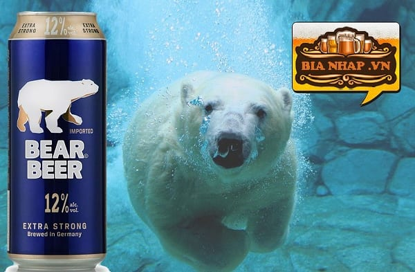 Bia Gấu Tím Bear Beer Extra Strong