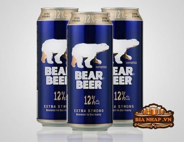Bia Gấu Bear Beer Extra Strong