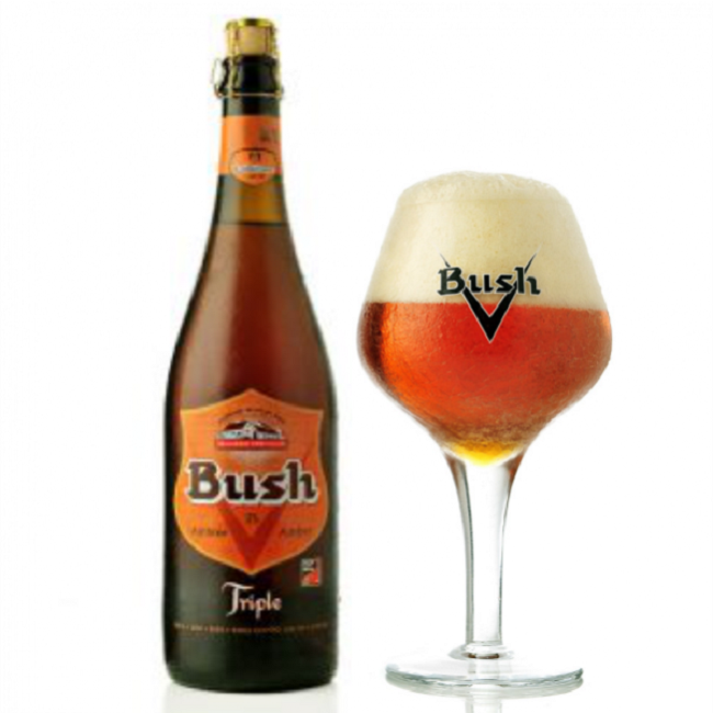 Bia Bush Amber Triple 750ml